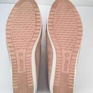 Hotter Shoes - Hotter Comfort Concept Leather  Flats